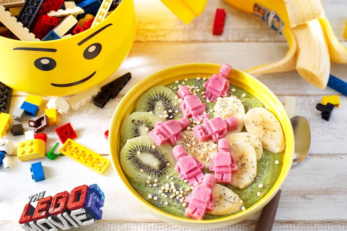 Banarnar's Matcha Chiquita Banana Smoothie-bowl