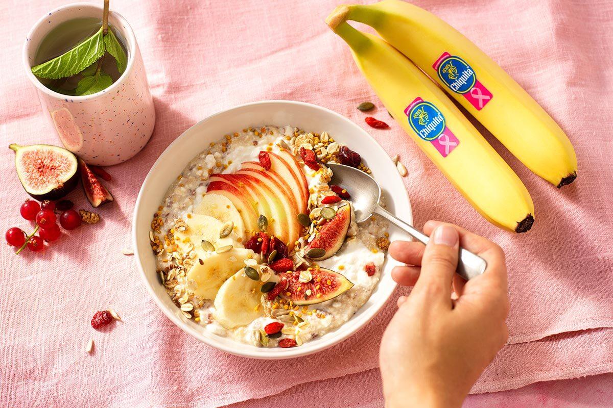 Budwig cream with Chiquita banana