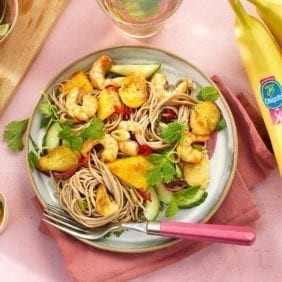 Chiquita banana shrimp stir fry
