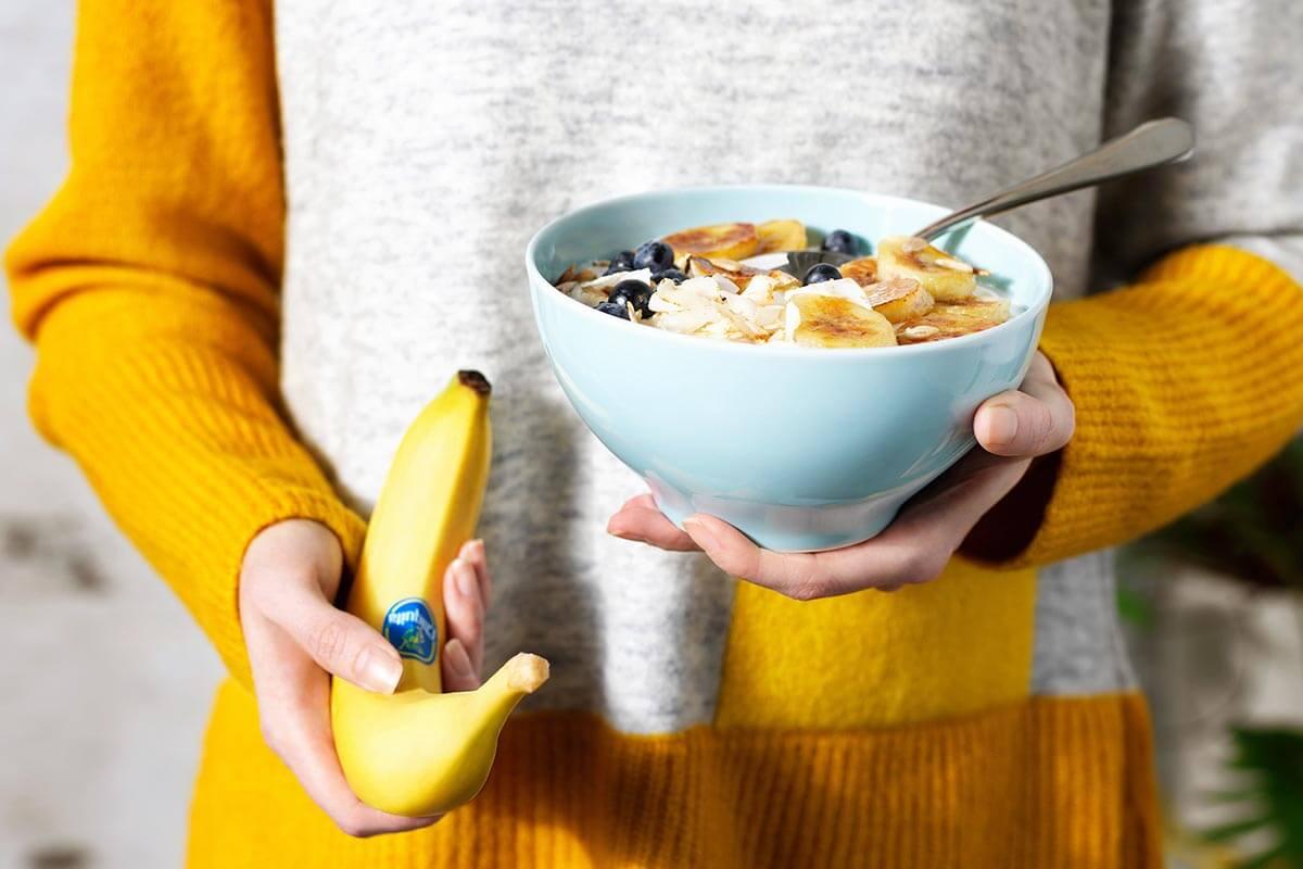 Chiquita Banana spicy winter smoothie