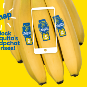 Chiquita Teams Up with Snapchat Ahead of World Banana Day