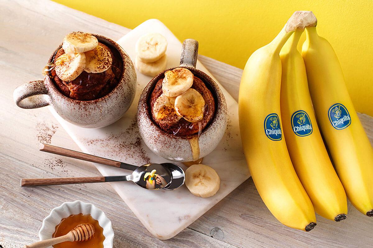 Chiquita banana muffin mug cake