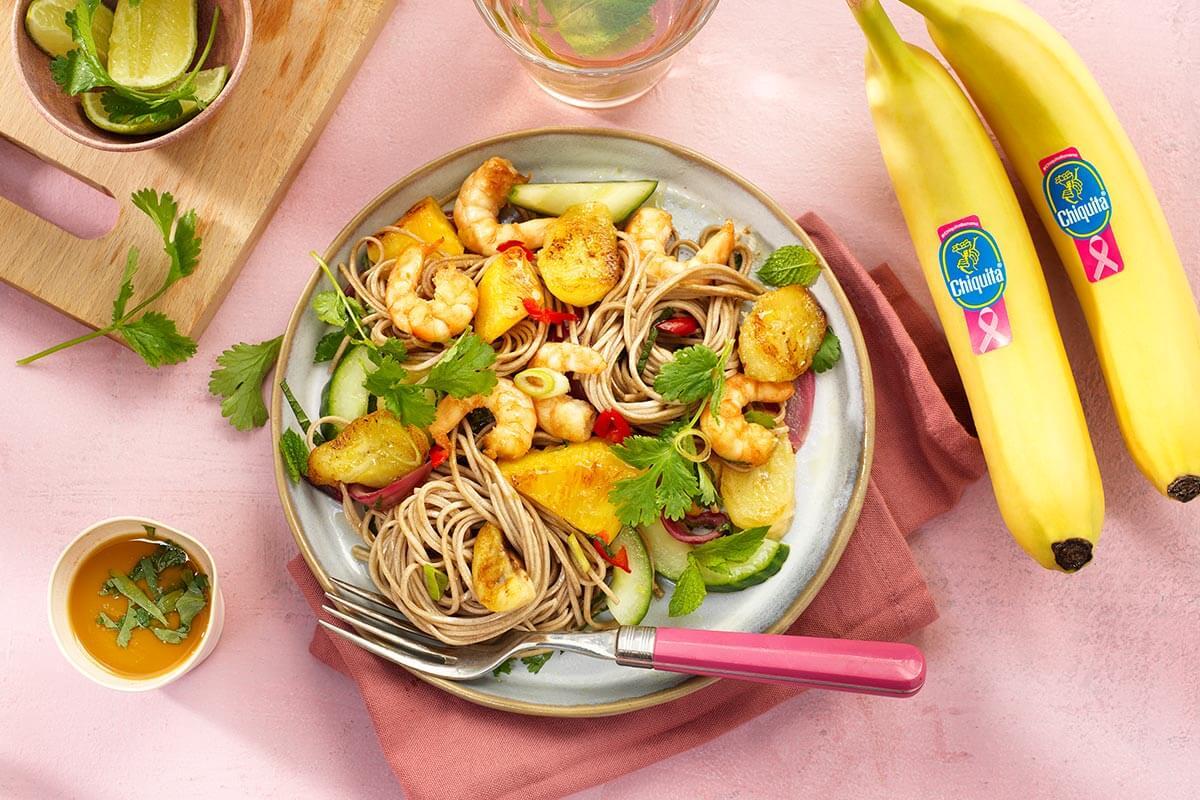 Chiquita banana shrimp stir fry