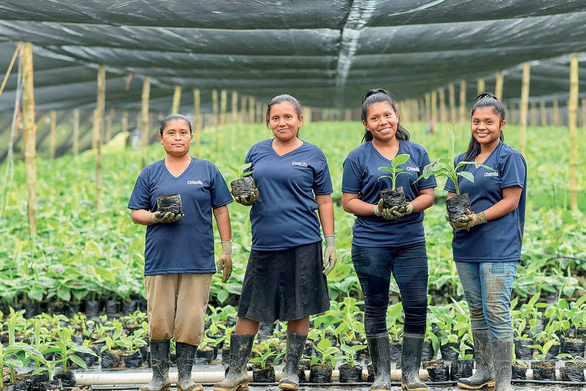 Chiquita tackles the challenge of empowering women -
