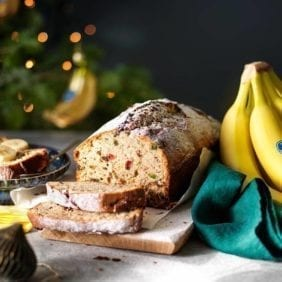 Christmas Chiquita banana bread
