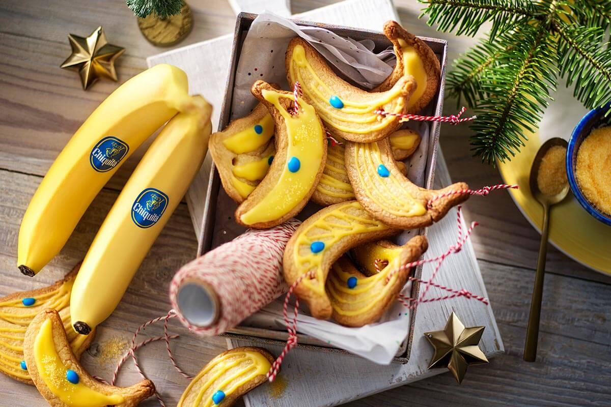 Christmas Chiquita banana cookies