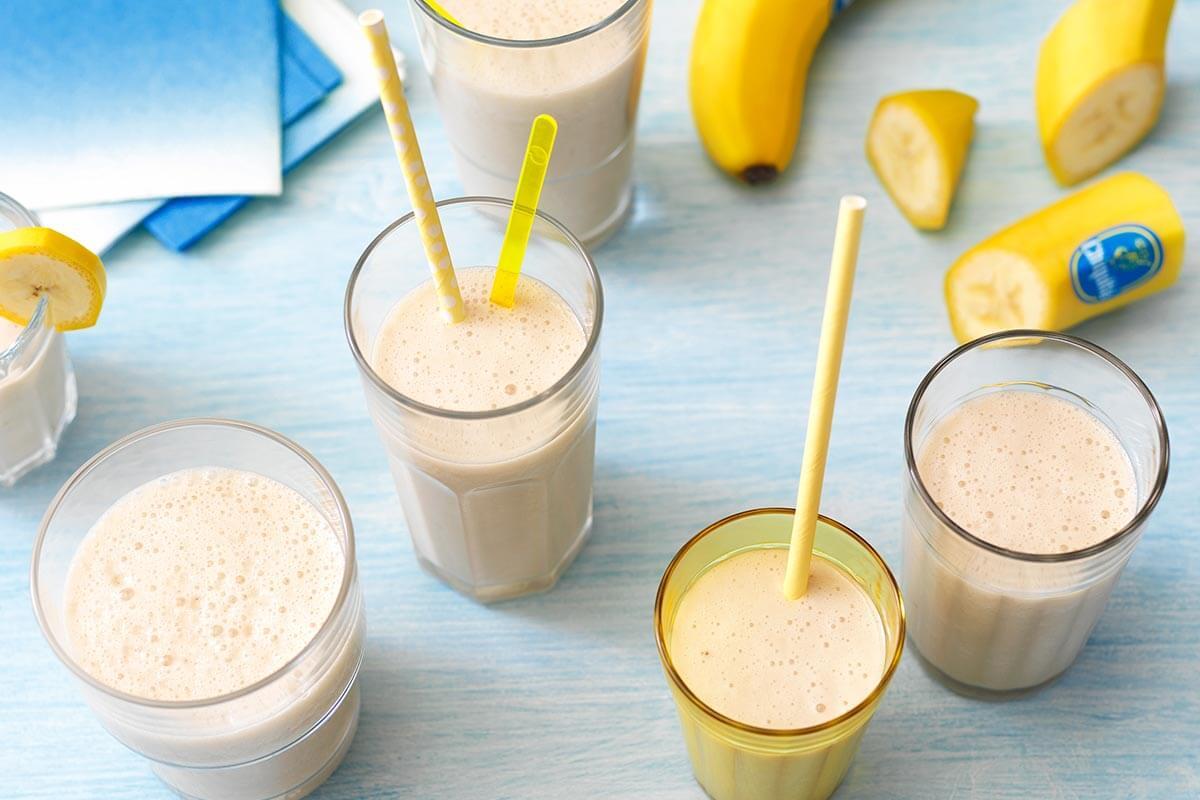 Easy Banana Shake Smoothies And Shakes Chiquita Recipes