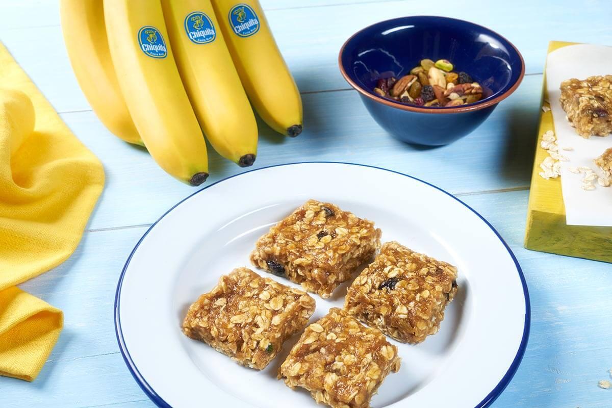 Easy Chiquita Banana No Bake Cookie Squares