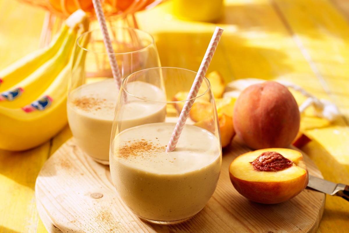 Easy Peachy Keen Chiquita Banana Smoothie