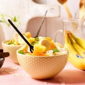 Healthy Light Chiquita Banana Ambrosia Salad