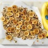 Homemade Chiquita banana chips