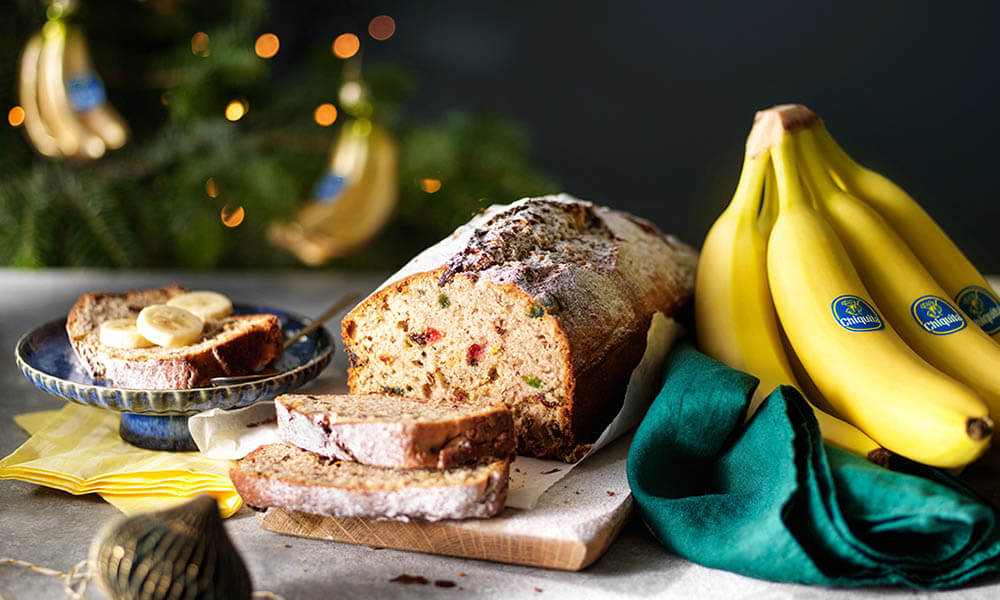 Christmas Chiquita banana bread