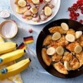 Kaiserschmarrn with Chiquita banana and red berries
