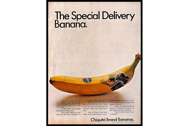 Chiquita advertisingArt