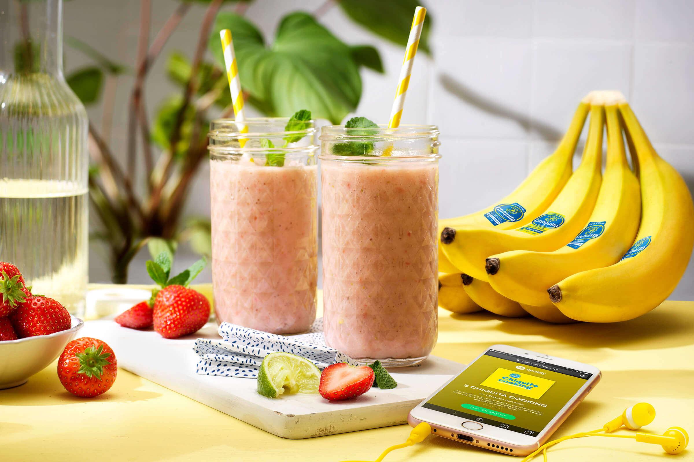 Strawberry Chiquita Smoothie