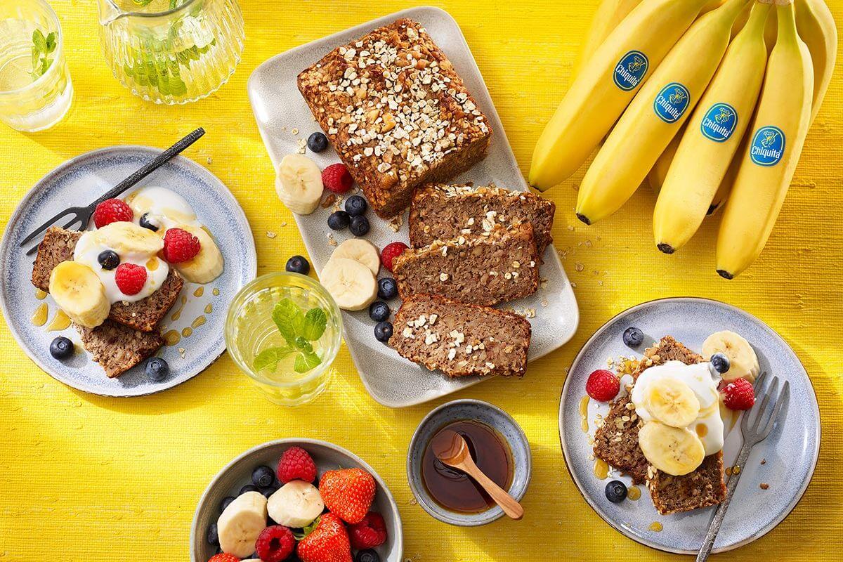 Oatmeal Chiquita banana bread
