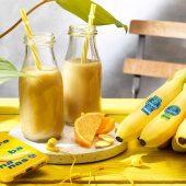 Chiquita banana, orange and ginger smoothie