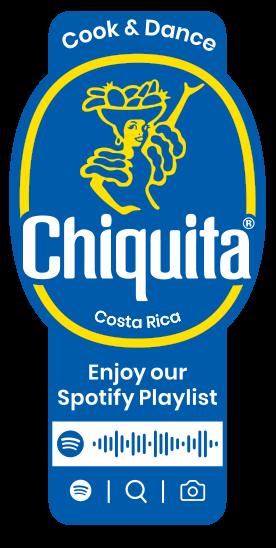 Spotify_Cook_Dance_Chiquita_Sticker