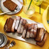 Vegan peanut butter Chiquita banana bread