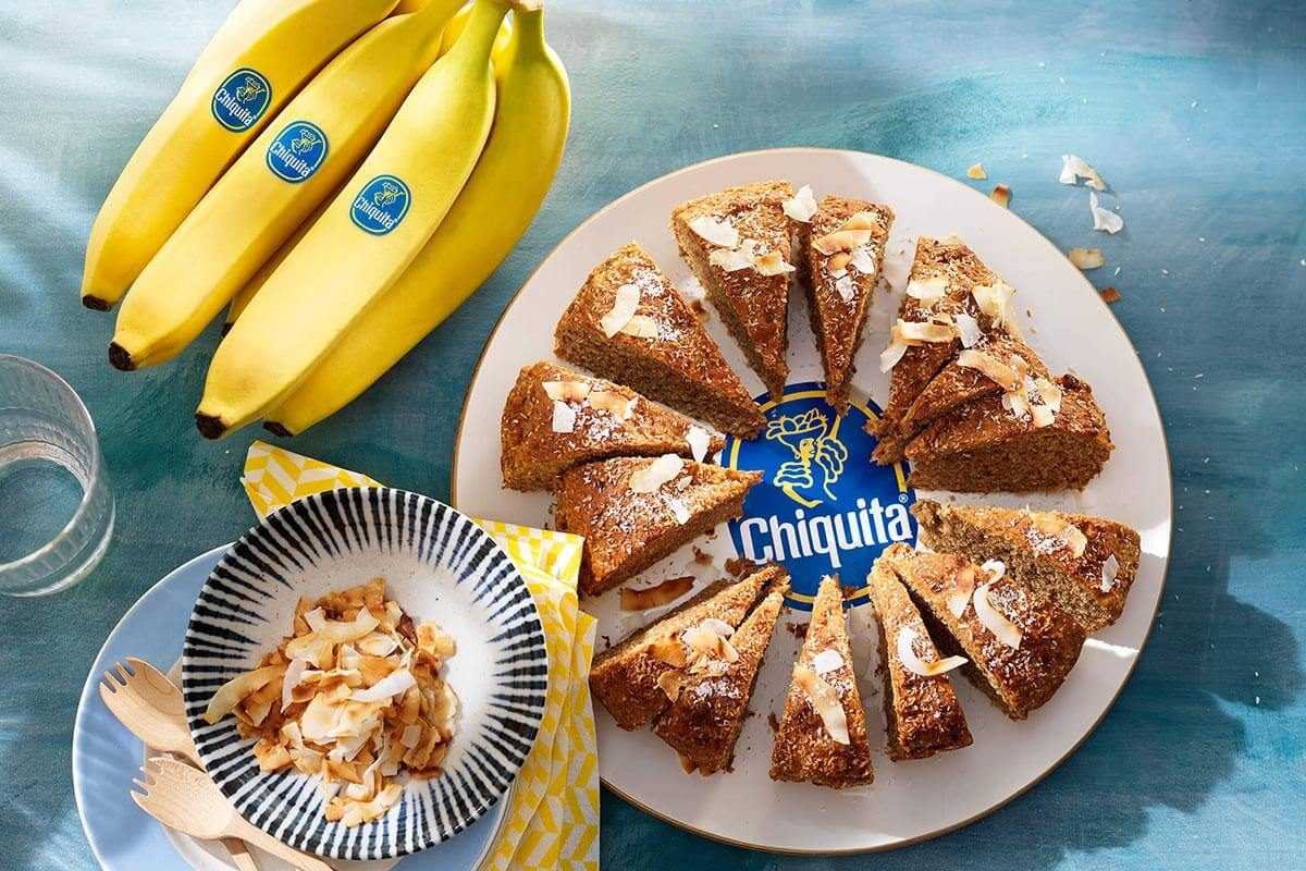 Chiquita banana coconut bread