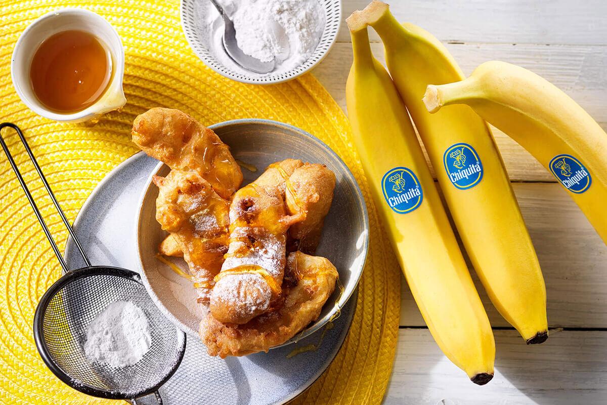 Easy deep-fried Chiquita bananas