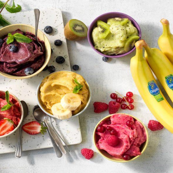 Reach zero waste and great taste with frozen Chiquita bananas