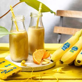 A healthy boost of Chiquita smoothies