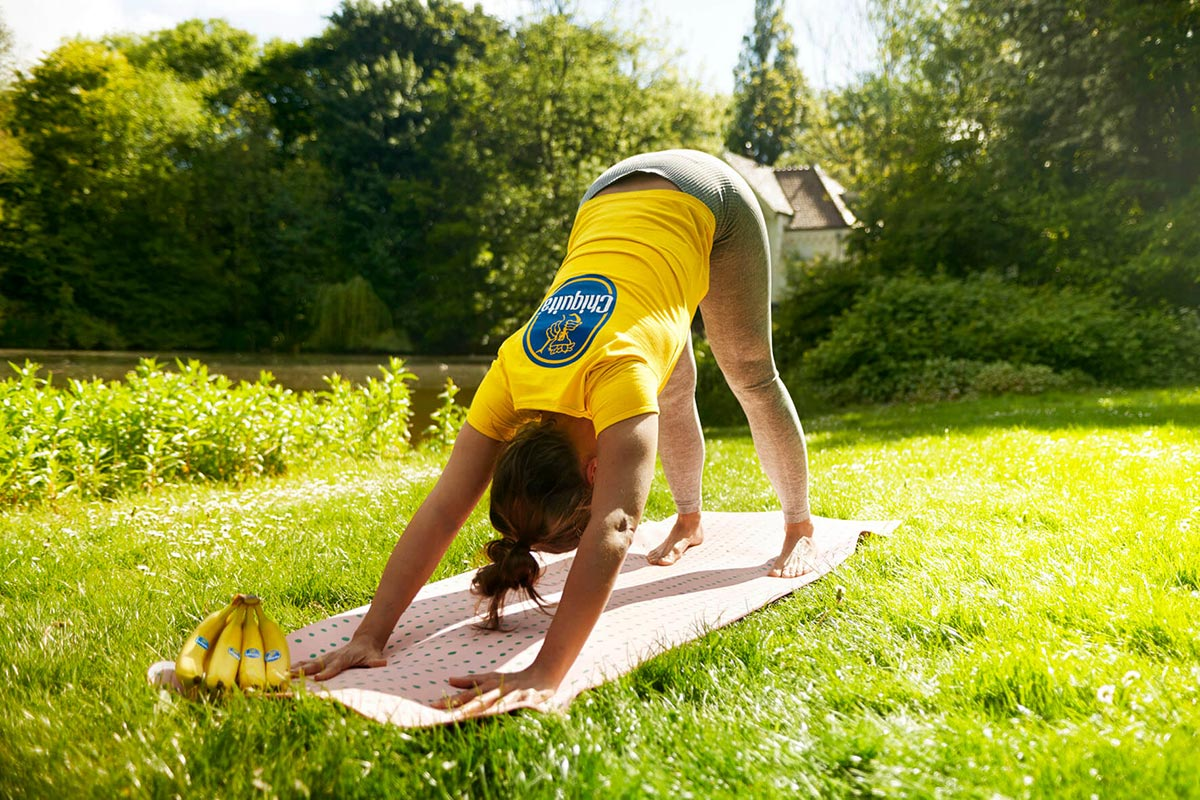 Yoga, Bananas & Staying Healthy