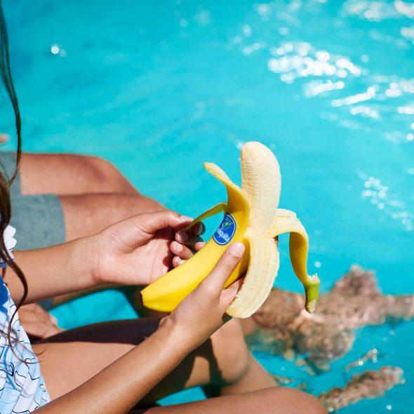 Chiquita bananas make the perfect summer vacation snack