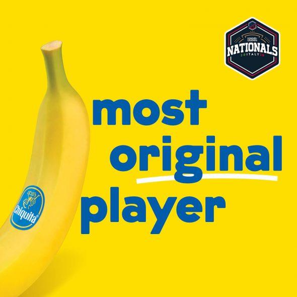 """The Most Original Player"""