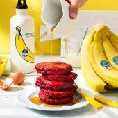 Sumo Squat Beet Chiquita Banana Pancakes