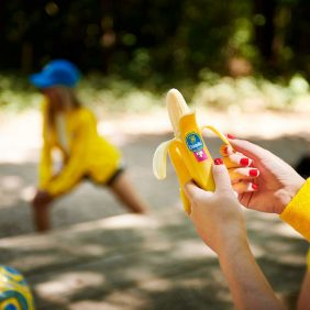 Chiquita goes bananas for runners and riders