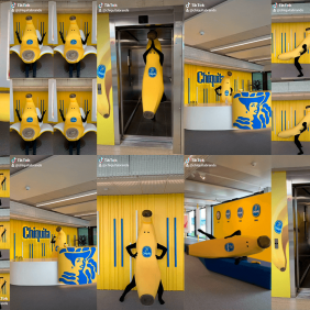 Join the #ChiquitaChallenge with the amazing Bananaman
