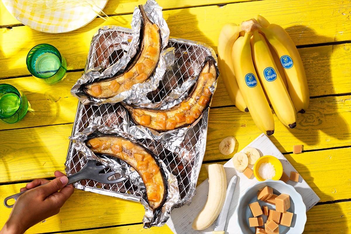 Caramelized BBQ Chiquita bananas