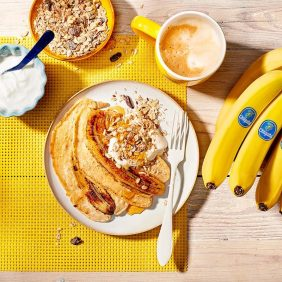 Chiquita Banana Bread Pancakes