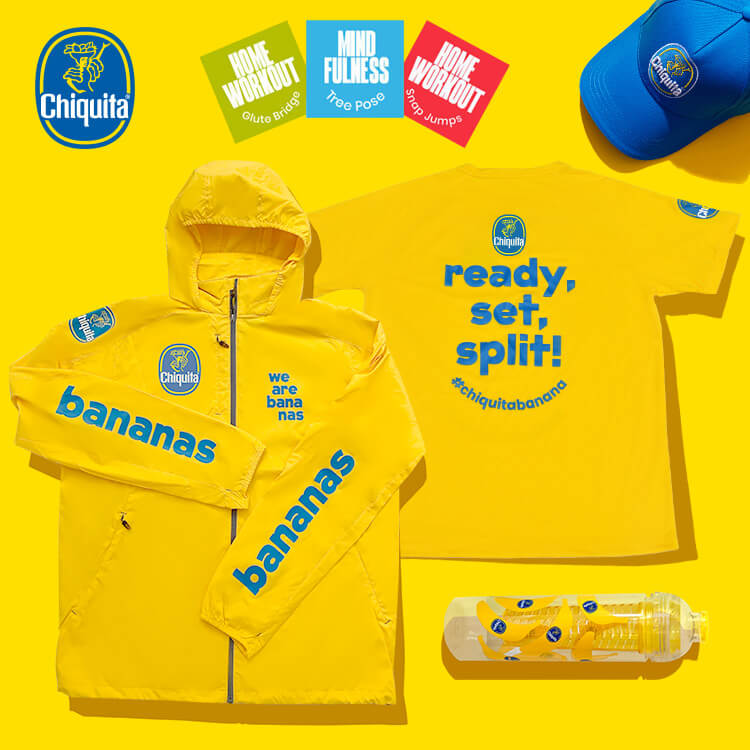 Try to win Chiquita's sports merchandising!