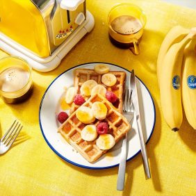 Build a better breakfast with Chiquita bananas