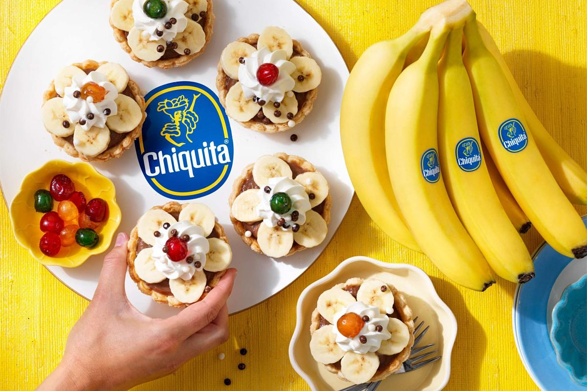 Chiquita Banana Chocolate Cream Retro Pies