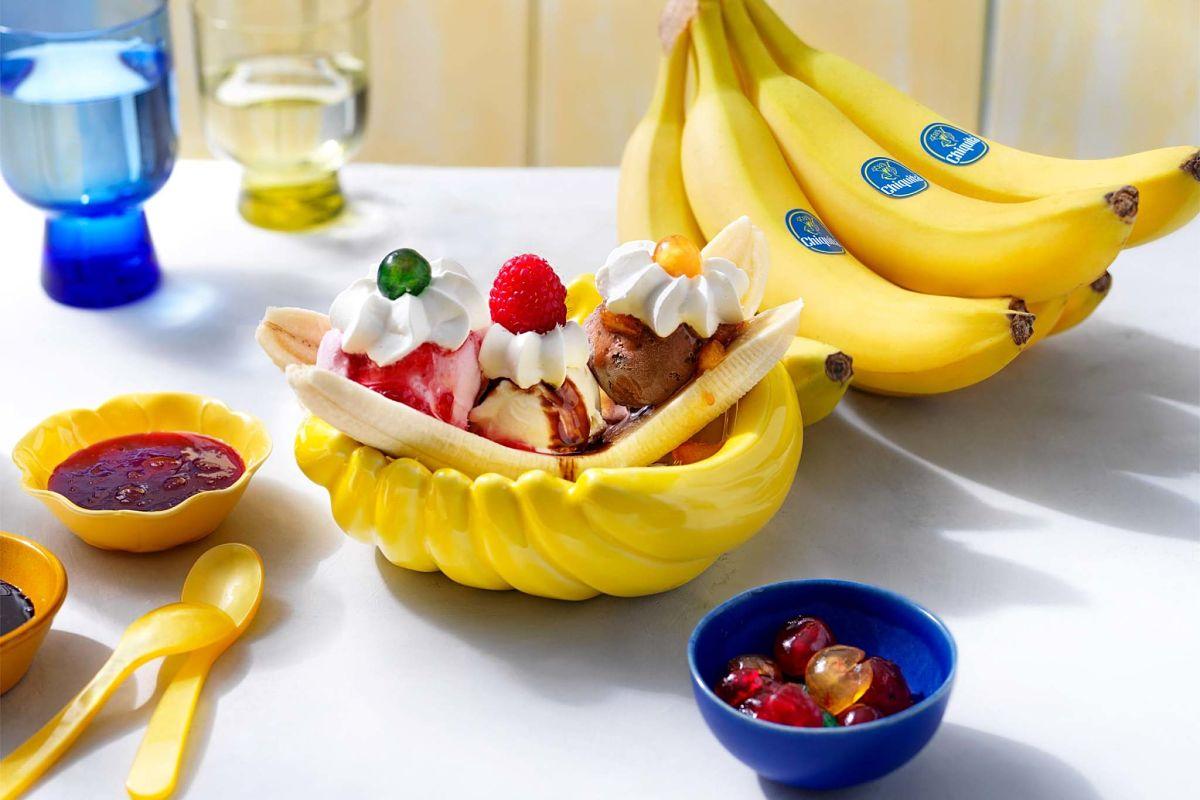 Chiquita Banana Split from the 50s