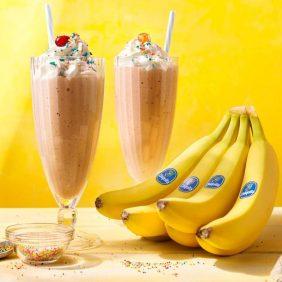 Vintage Chiquita Banana Vanilla Milk Shake