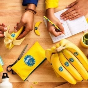 "Chiquita Offers New Virtual Backgrounds and Delicious Recipes to ""A-peel"" to Remote Learning"