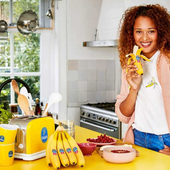 Chiquita Promotes Breast Cancer Awareness with Limited-Edition Pink Sticker Series