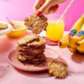 Two ingredient Chiquita banana oatmeal cookies