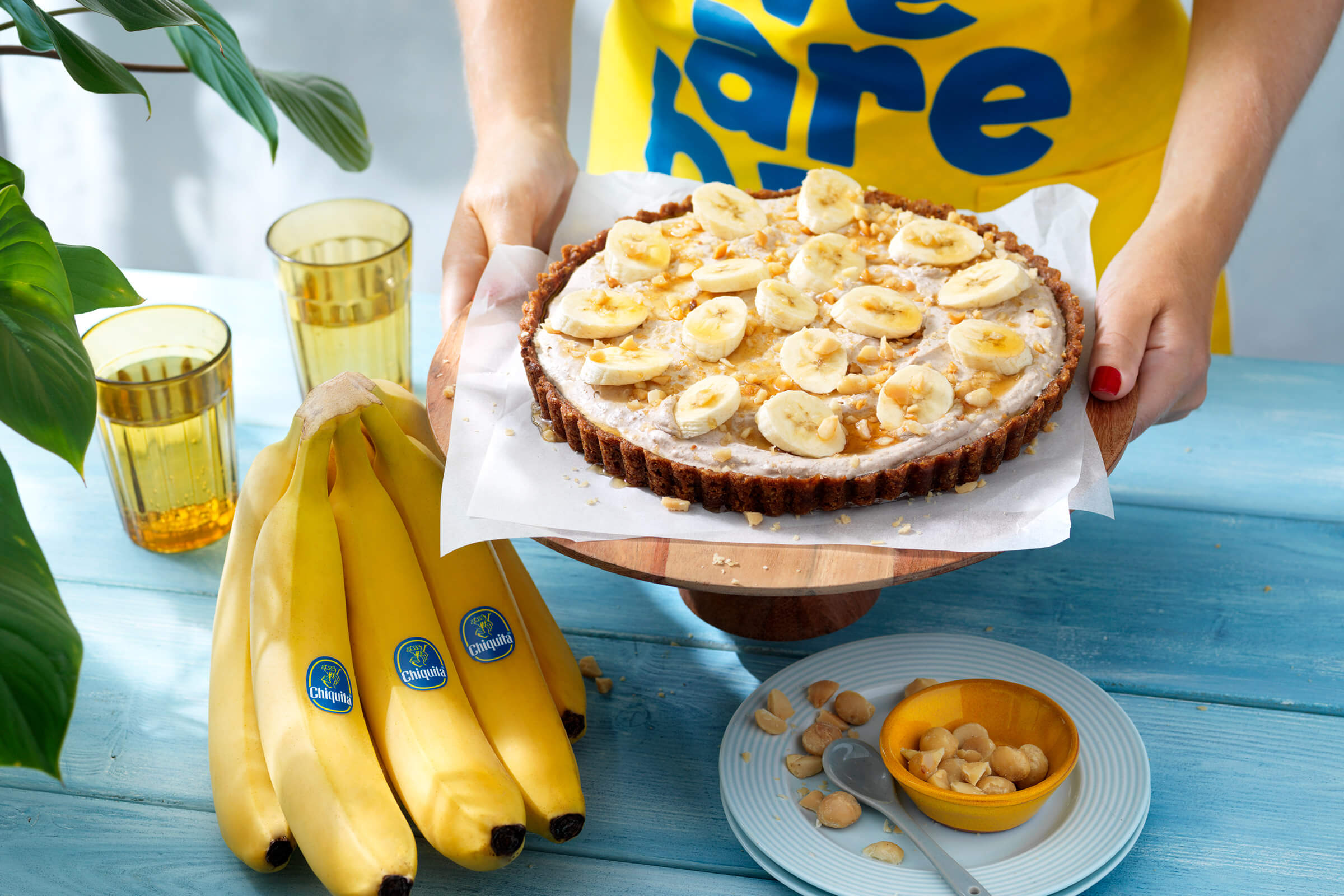 Easy Thanksgiving Pie with Chiquita Banana