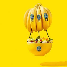 Classic Chiquita Floating Banana Fruit bowl