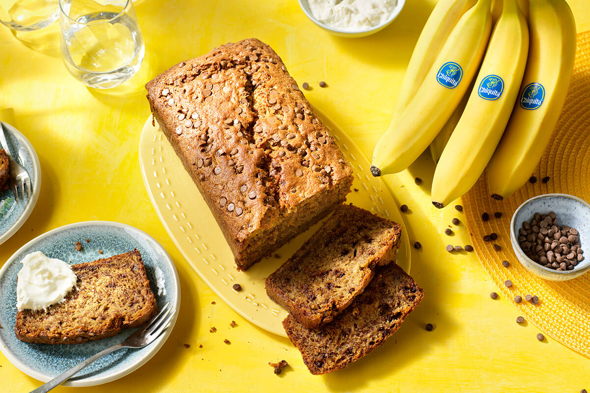 Chocolate Chip Banana Bread by Chiquita