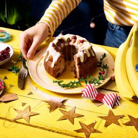 Christmas Moist Banana Bread by Chiquita