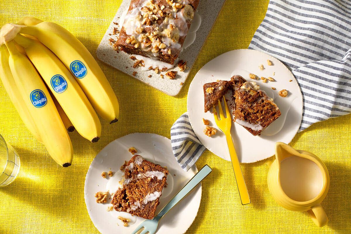 Eggless Banana Bread by Chiquita