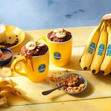 Best Ever Chiquita Banana Chocolate Mug Cake