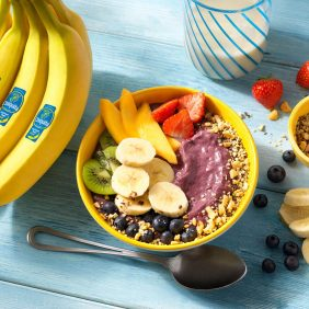Chiquita Banana Acai Yogurt Bowl